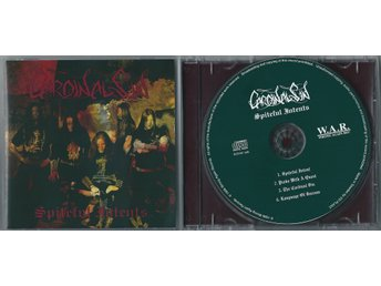 "CARDINAL SIN ""Spiteful Intents""CD ORG 96 / Unanimated, Dissection, Vinterland"