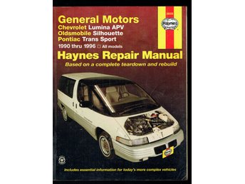 Haynes - General Motors Chevrolet Oldsmobile Pontiac 1990