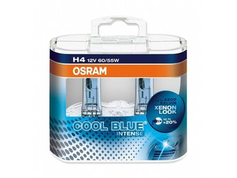 H4 lampa OSRAM 12V 60/55W COOL BLUE Intense 2-Pack
