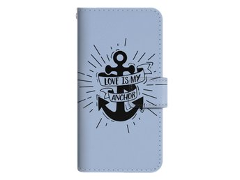iPhone 6/6s Plånboksfodral Love Is My Anchor
