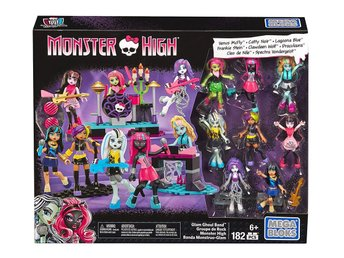 Mega Bloks Monster High Glam Ghoul Band