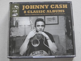 Javascript är inaktiverat. - Nynäshamn - Johnny Cash 8 Classic Albums CD (4CD)4 disc set gathering all the tracks from Johnny Cash's first eight albums, plus corresponding non-album singles too! A total of 118 tracks dating from 1957 to 1960.Featuring the albums With His Hot & Blue  - Nynäshamn
