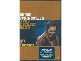 BRUCE SPRINGSTEEN & THE E STREET BAND - LIVE IN BARCELONA  - 2 DVD