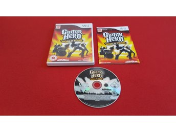 GUITAR HERO WORLD TOUR till Nintendo Wii