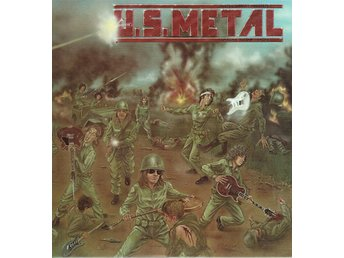 VARIOUS ARTISTS - U.S. METAL (UNSUNG GUITAR HEROES). LP