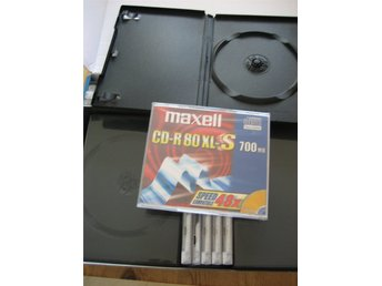 DVD, Cd fodraler +Cd.R,