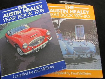 2 x The Austin Healey Year Book 1978 + 1979-80 av Skilleter