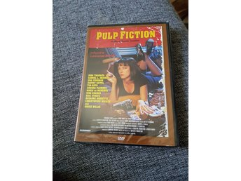 Pulp fiction dvd inplastad