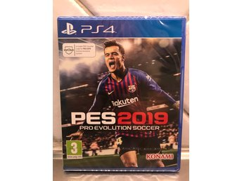 PES 2019 Pro evolution soccer PS4  Nytt/oöppnat