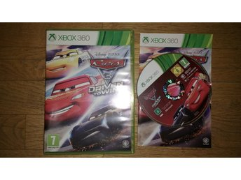 Xbox 360: Cars Bilar 3 Driven to Win