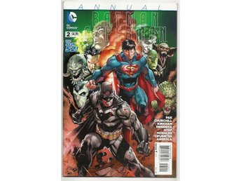 Batman/Superman Annual # 2 NM Ny Import
