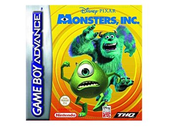 Monsters Inc - Gameboy Advance