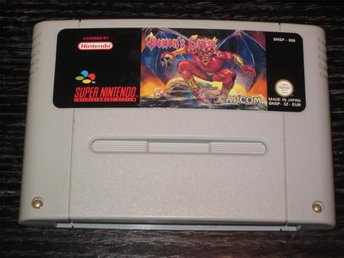 Demons (Demons) Crest till Super Nintendo SNES - Ekerö - Demon's (Demons) Crest till Super Nintendo SNES - Ekerö