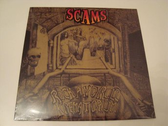 The Scams  Rock And Roll Krematorium LP  Still Sealed  2011 (AC/DC Judas Priest)