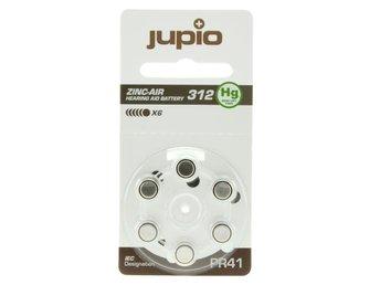 Jupio hörapparatsbatteri 312 Brun - 6st batterier - Norrköping - Jupio hörapparatsbatteri 312 Brun - 6st batterier - Norrköping