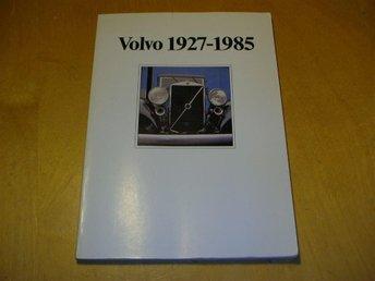 Volvo 1927-1985 Bok / broschyr på engelska - English text - Vänge - Volvo 1927-1985 Bok / broschyr på engelska - English text - Vänge
