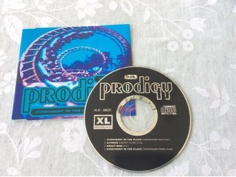 The Prodigy Everybody in the place CD Maxi (rare)