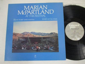 "Marian McPartland ""At The Festival"""