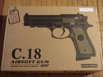 METALL C.18! AIR SOFT PISTOL!