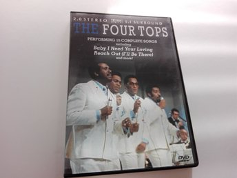 The Four Tops - Performing 10 Complete Songs 1970 DVD - Regionsfri PAL, soul r&b