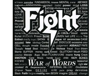 CD -Fight ‎– War Of Words