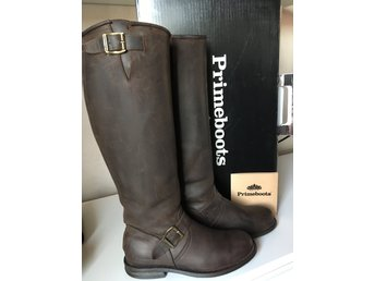 Primeboots engineer high brun 38 (nyp 3700)Fri Frakt