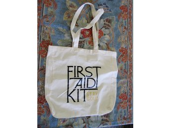First Aid Kit - Stay Gold, Tygpåse, shoppingbag - Limited Edition