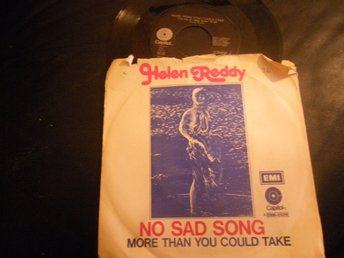 helen reddy no sad song singel