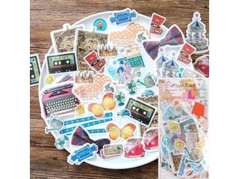 First time - A pack of 60 Japanese washi gift stickers dekorationstejp tejp