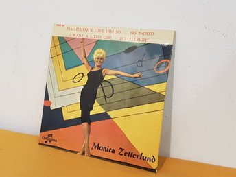 Monica Zetterlund - Hallelujah I Love Him So - EP - 1959 - JAZZ - Svensk press
