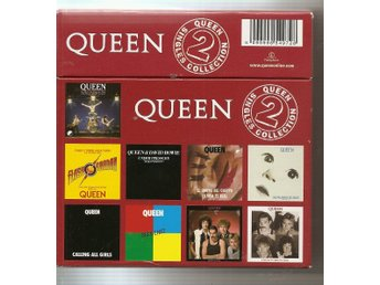 Queen: Box Set - Singles Collection Volume 2 -Nyskick