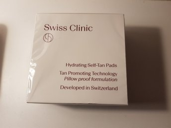 Swiss Clinic Hydrating Self-Tan Pads NY!