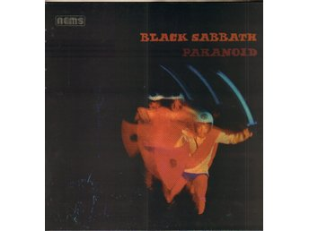 BLACK SABBATH - PARANOID (RED VINYL) LP