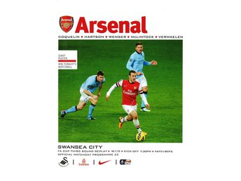Program; Arsenal - Swansea (FA cup 16.1.2013)