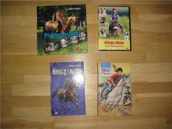 3 hästböcker en NY dvd film - Eslöv - 3 hästböcker en NY dvd film - Eslöv