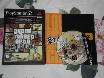PlayStation 2: Grand Theft Auto GTA: San Andreas