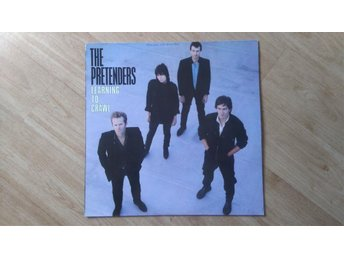 THE PRETENDERS Learning to crawl LP