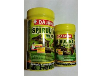 100 - ml burk spirulina wafers