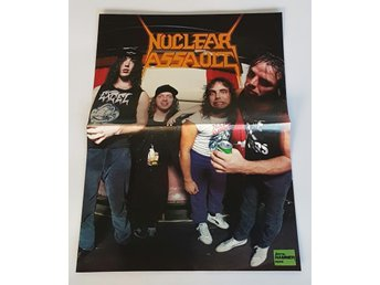 Nuclear Assault / Dogs dámour doublesided poster