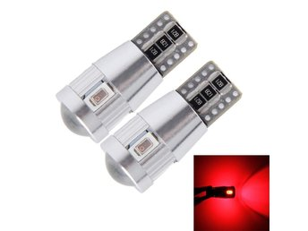 LED Diodlampa 3W 6 SMD-5630 Canbus - 2Pack