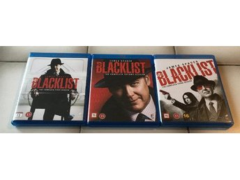 The Blacklist (säsong 1-3) blu ray