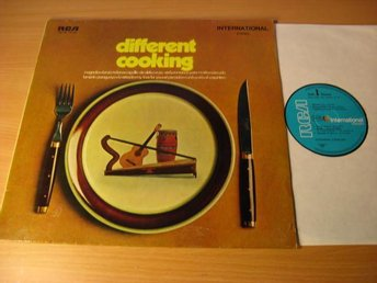 Different Cooking. RCA 1971 Germany (swe, recording) Latino~Folk.