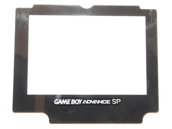 Glas till Nintendo Game Boy Advance SP