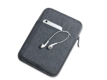Canvas iPad Bag - Mini1/2/3/4, Dark Grey