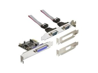 Delock PCI Express Card > 2 x Serial + 1 x Parallel (Moschip)