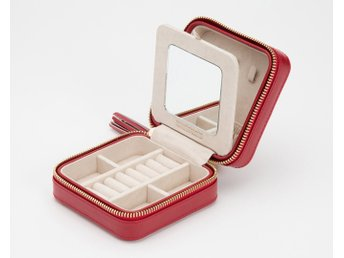 Wolf Caroline Zip Travel Case, Red