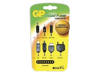 GP Instant Power - Universal adaptersats