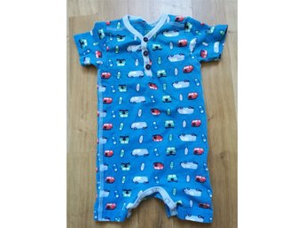 Name It sparkdräkt/pyjamas/body retro folkabussar surfbrädor storlek 62