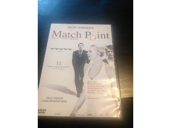 match point, thriller, dvd med scarlett Johansson, Brian Cox