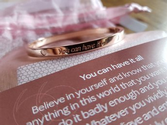 "Mary Kay Armband mars ""You can have it all""  - NYTT"